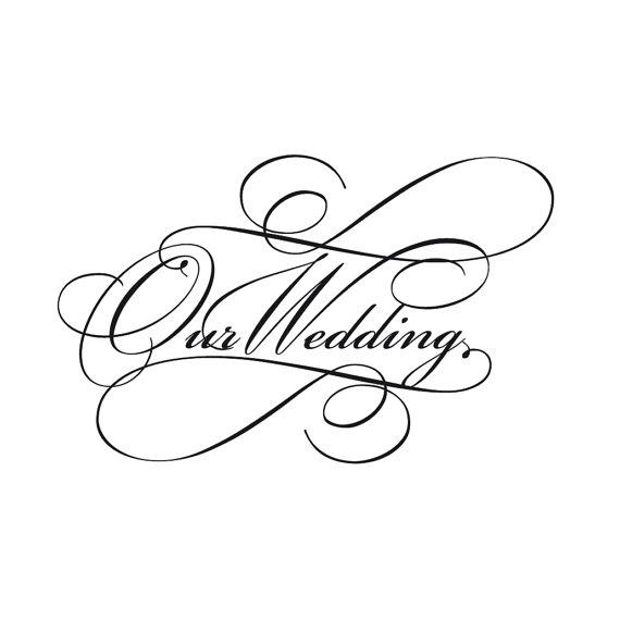 Script wedding invitation wor - Wedding Invitation Clip Art