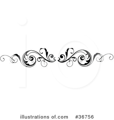 scroll border clipart