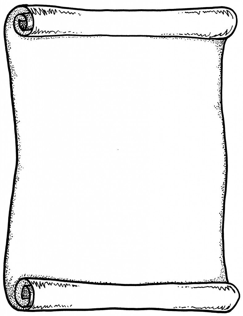 Scroll Clip Art 5-Scroll clip art 5-14