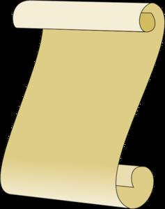 Scroll clipart 2