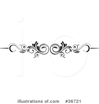 Scroll Clipart 36721 Illustration By Onfocusmedia