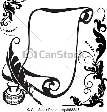 Scroll Art Vector Clipart Royalty Free. -Scroll art Vector Clipart Royalty Free. 66,029 Scroll art clip art vector  EPS illustrations and images available to search from thousands of stock ClipartLook.com -12