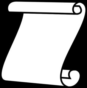 Scroll, White Background Clip Art-Scroll, White Background Clip Art-15