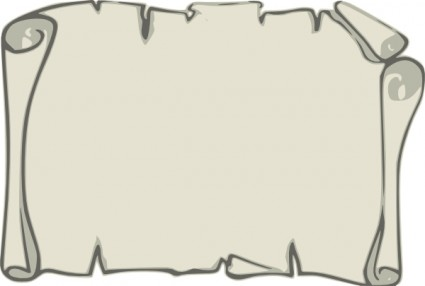 Scroll Paper Clipart