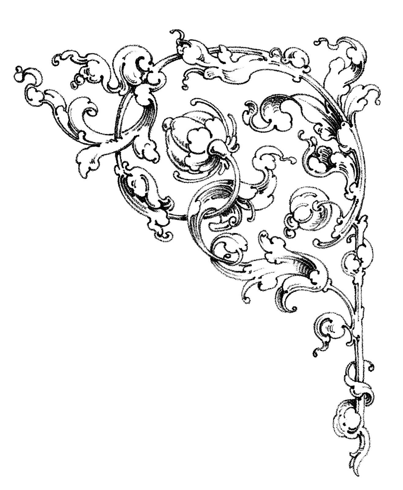 Scrolls - Wedding Clip Art ..