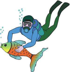 Scuba clipart - Scuba Diver Clip Art