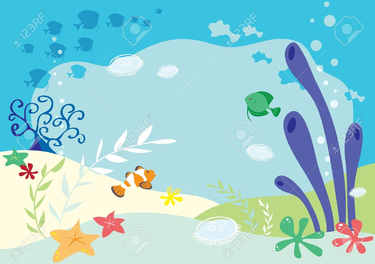 Sea Background Clipart