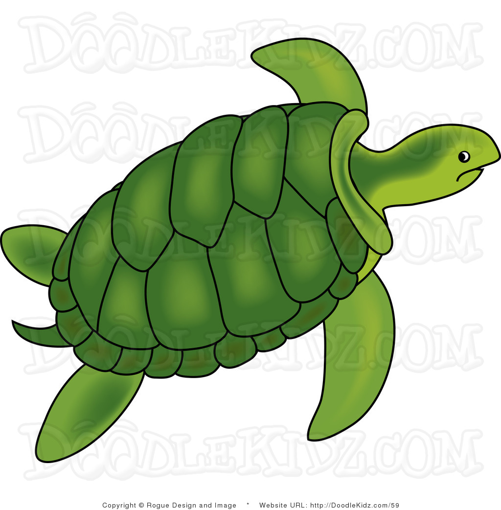 Sea Clip Art - Turtles Clipart