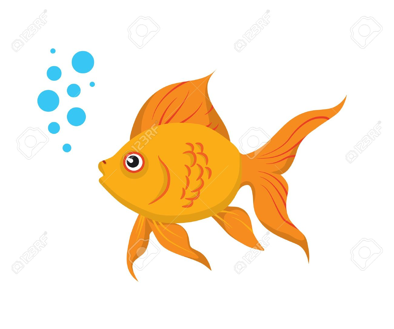 Sea Goldfish Clipart-Sea Goldfish Clipart-5