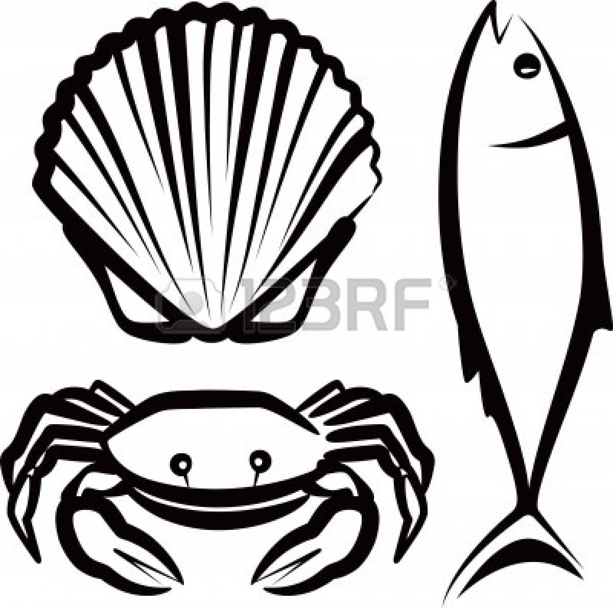 Seafood Clipart-seafood clipart-7