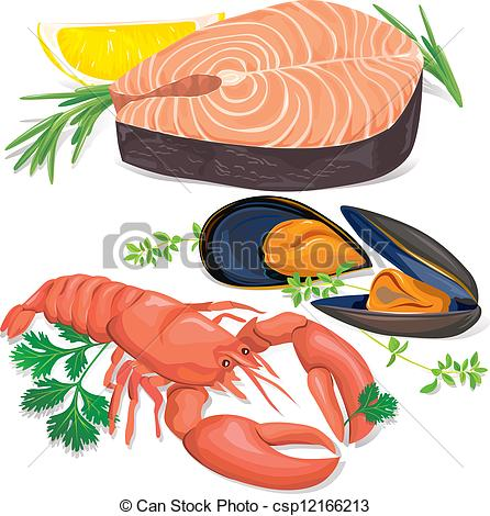 Seafood Clipartby ...