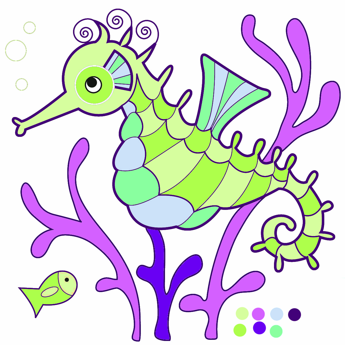 Seahorse clip art images free clipart