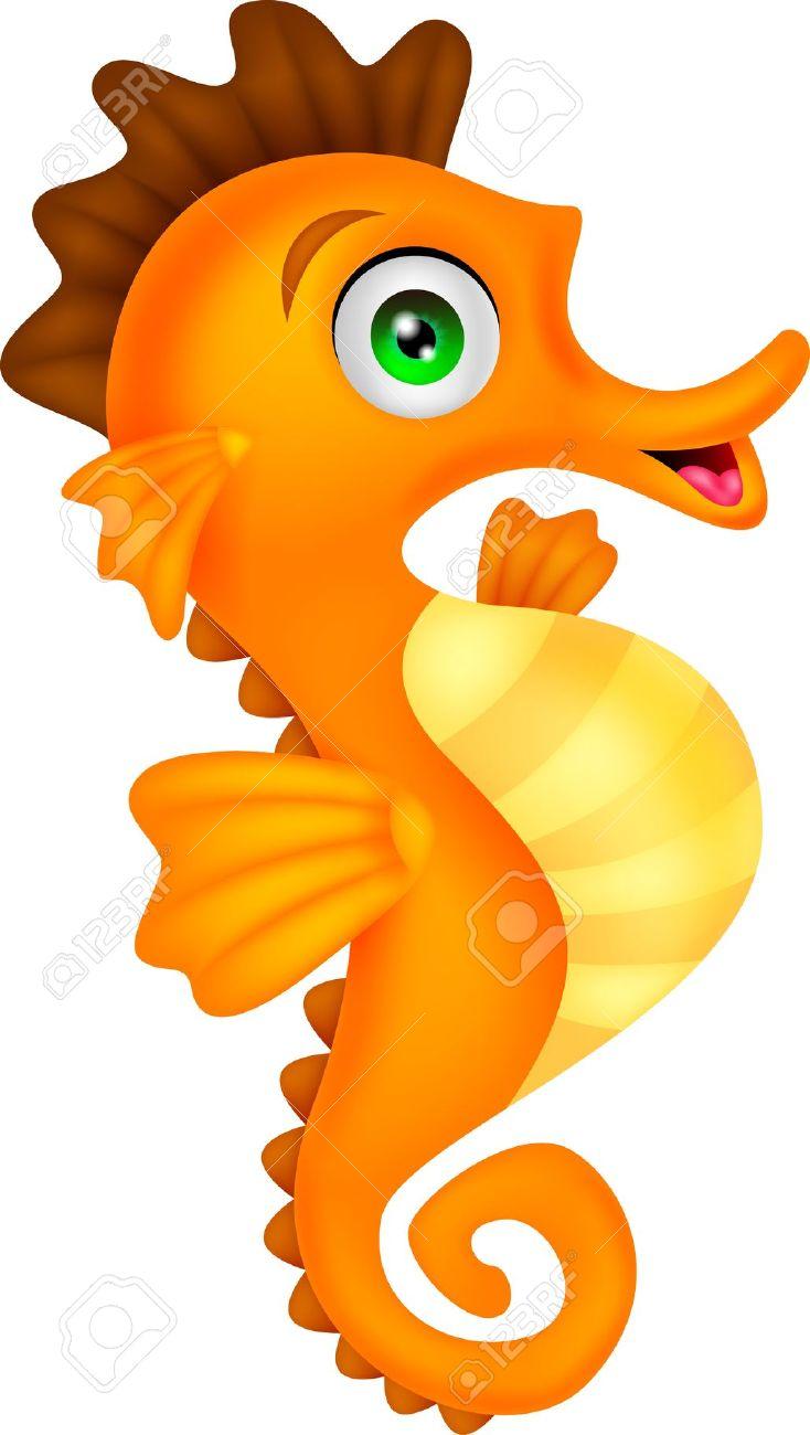 Seahorse clipart 4