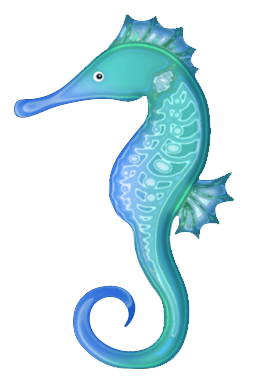 Seahorse Sea Horse Clip Art Image 5 2-Seahorse sea horse clip art image 5 2-17