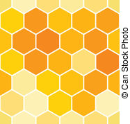 ... Seamless honeycomb pattern
