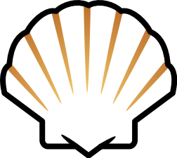 Yellow Scallop Shell Clip Art