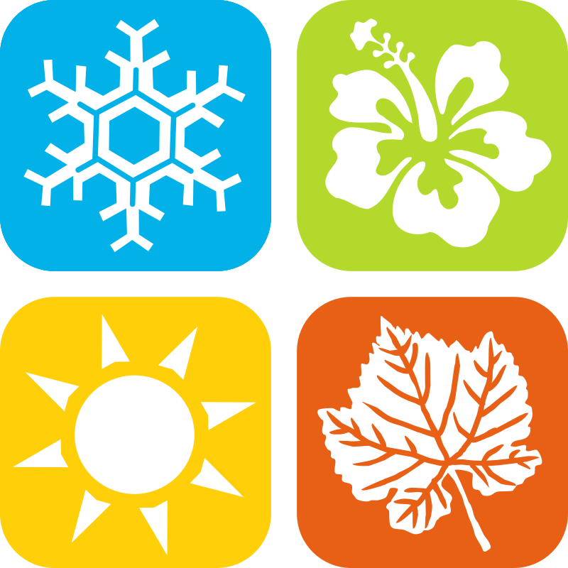 Seasons Clipart Free For Download