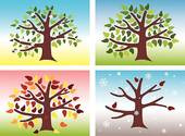 Seasons - Fotosearch Clipart