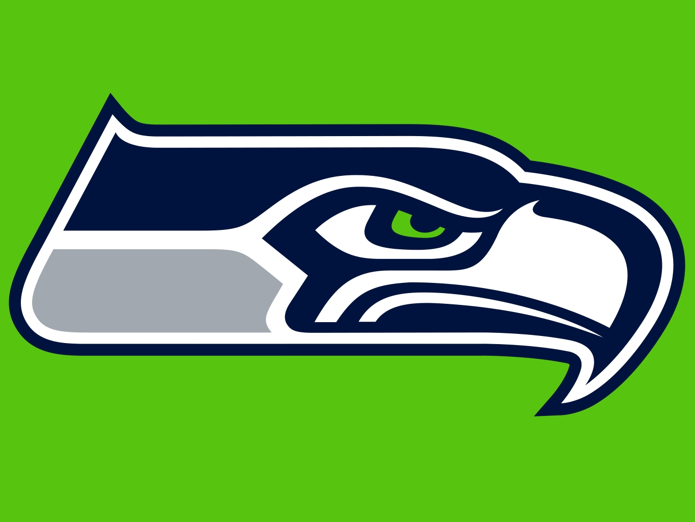 Seattle Seahawks Green Clipart #1