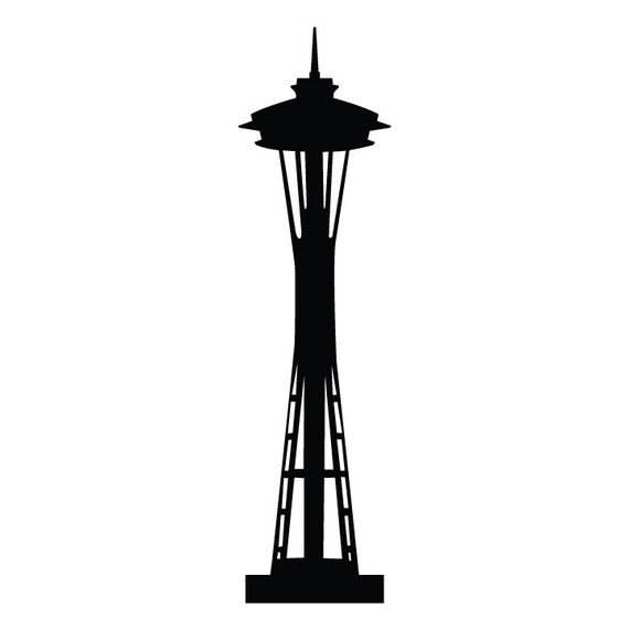 Seattle Space Needle 7 ft Tall .