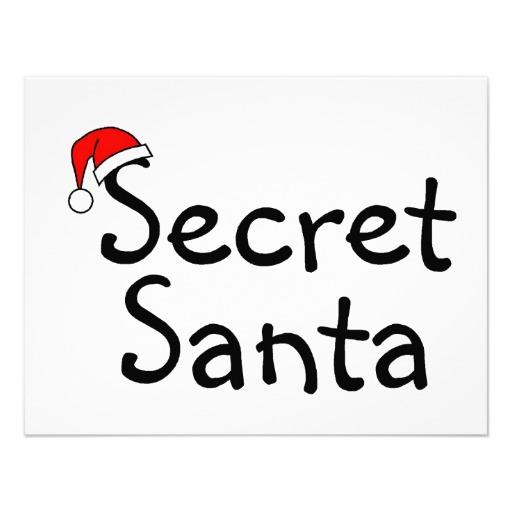 Secret Santa 2 4 25x5 5 Paper .
