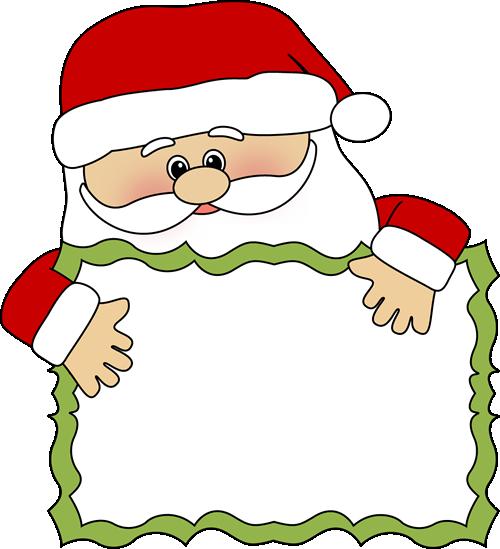 ... Secret Santa Clip Art ...