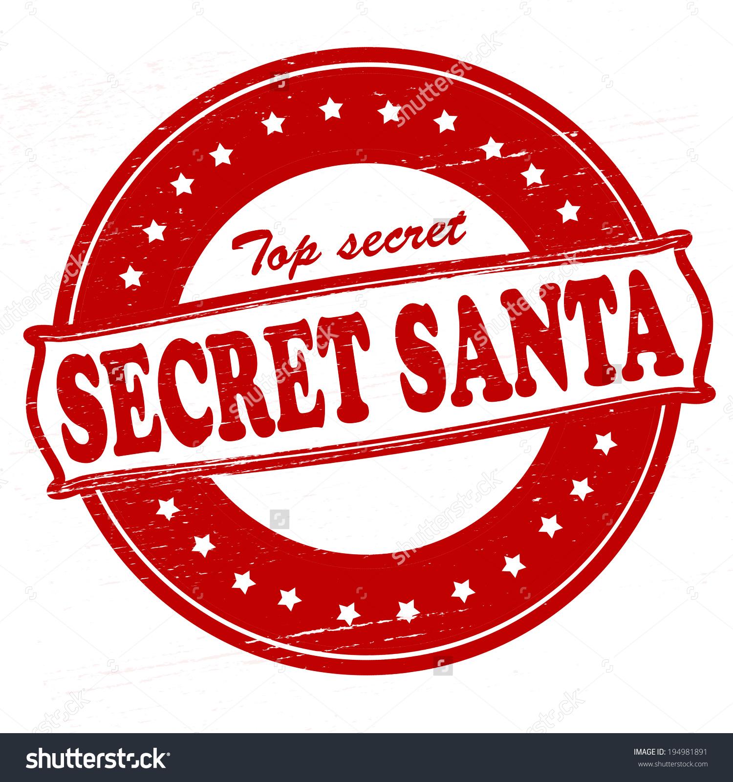 Secret Santa Clipart Free