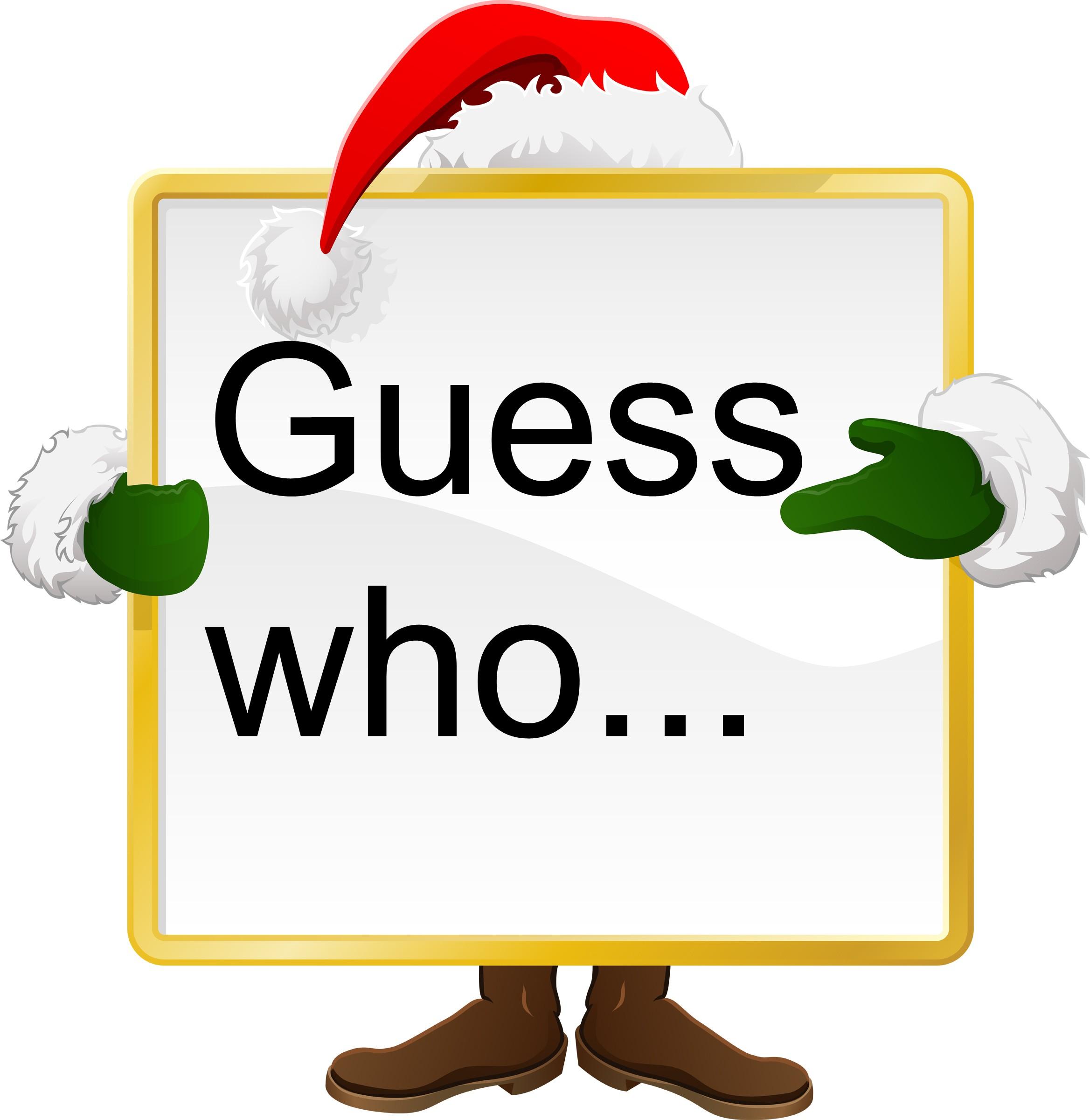... Secret Santa Clipart; Secret Elf Clipart ...