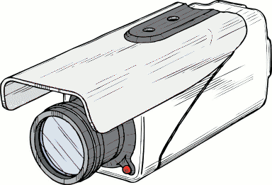 Security camera clipart 3 - Security Camera Clipart