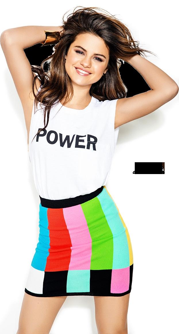 Selena Gomez png Seventeen 3 HQ by iamszissz ClipartLook.com