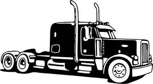 Semi Truck Free Clipart Icons .-Semi truck free clipart icons .-9