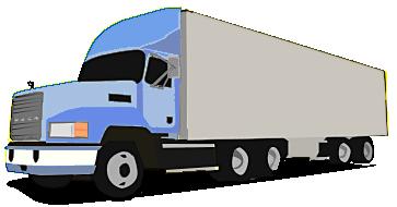 Semi trucks clipart - ClipartFest