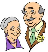 Senior Adult Day Clipart #1