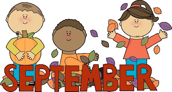 September Kids Autumn Scene