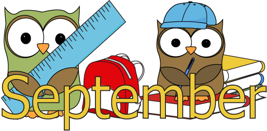 September Month School Owls