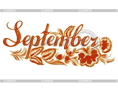 September Stock Photos And Vektor Eps Clipart Cliparto