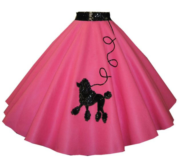 Sequin poodle Skirt with belt!
