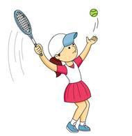 Serving A Tennis Ball. Size: 45 Kb-serving a tennis ball. Size: 45 Kb-7