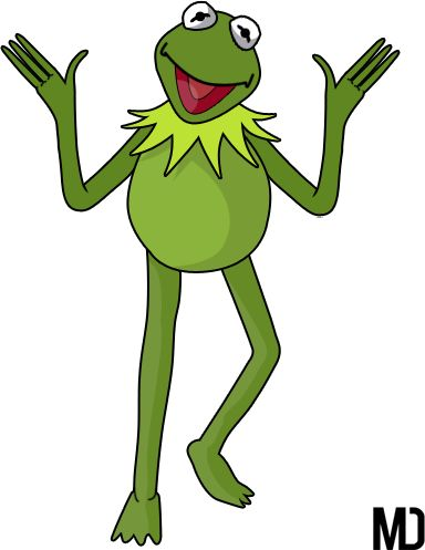 Sesame Street Kermit the Frog Clip Art