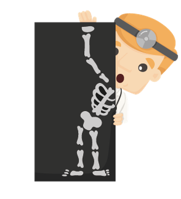 Set Of Doctor Characters With X-Ray, Ult-Set of Doctor Characters with X-Ray, Ultrasound | Clipart-11