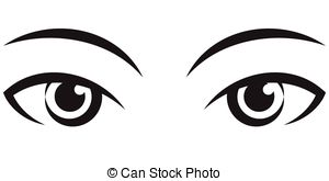 Set of eyes clipart. Images of eyes blac-Set of eyes clipart. Images of eyes black and white clipart-5