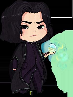 Dark Baby: Severus Snape by bunnbelle ClipartLook.com