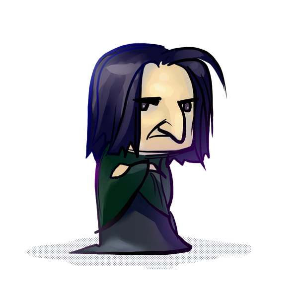 Harry Potter ~ Severus Snape (chibi version) by zarin-a ClipartLook.com