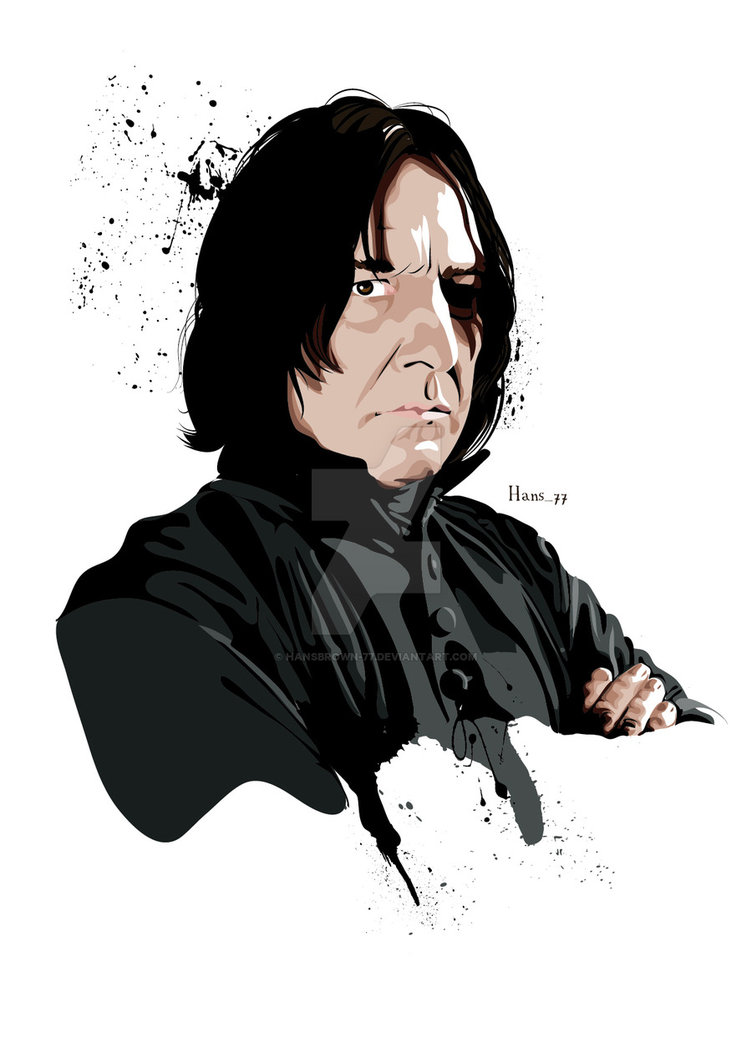 Severus Snape by hansbrown-77 ClipartLook.com