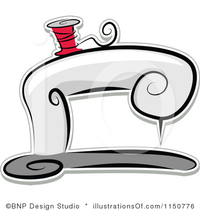 Sewing Clip Art Royalty Free Sewing Machine Clipart Illustration