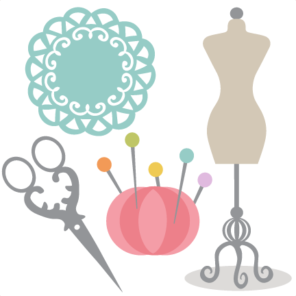sewing clipart. Sewing Set SVG cutting files .