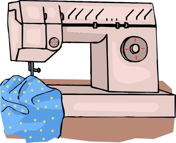 Sewing Machine clip art
