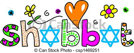 Shabbat - Decorative Whimsical SHABBAT T-shabbat - Decorative whimsical SHABBAT text message isolated... shabbat Clipartby ...-14