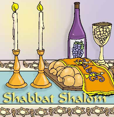 Shabbat Shalom Clip Art-Shabbat Shalom Clip Art-18