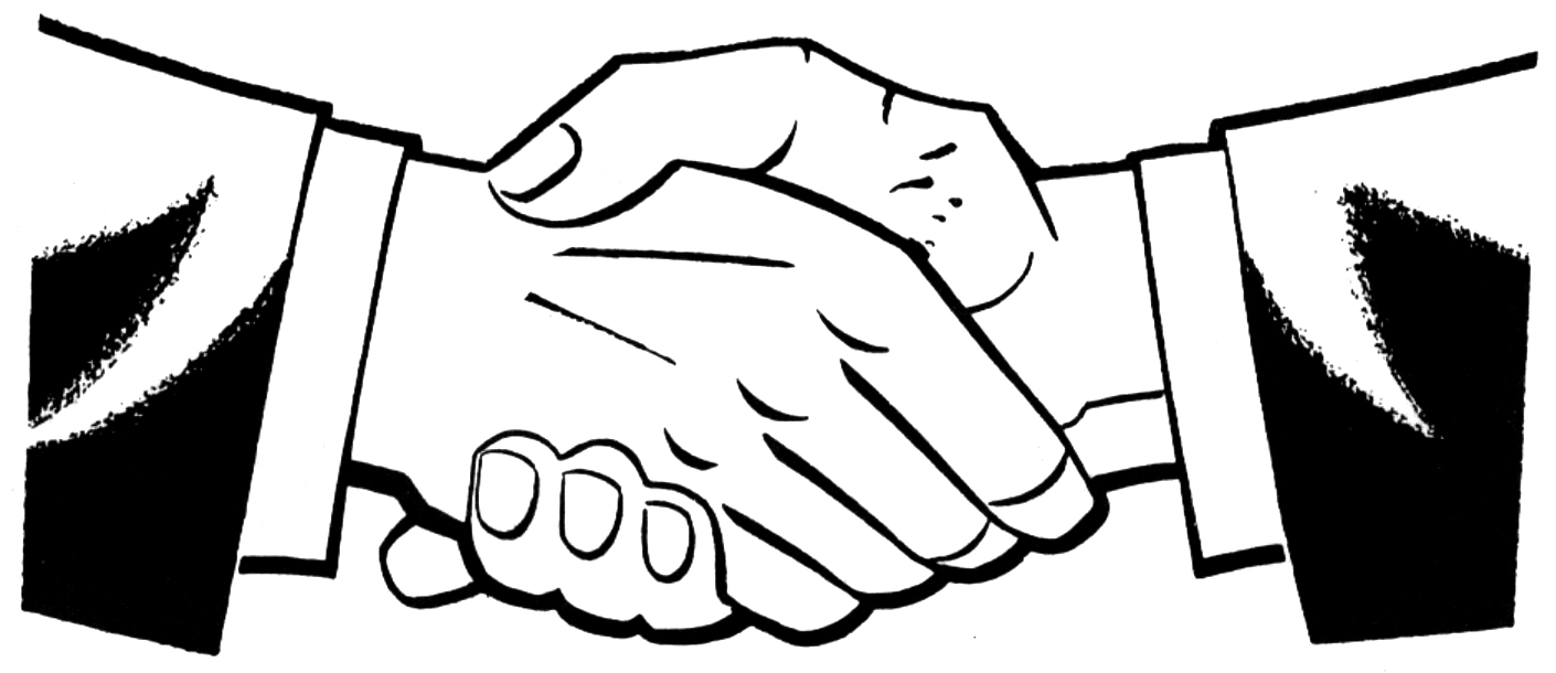 Shaking Hands Clip Art Clipart Best